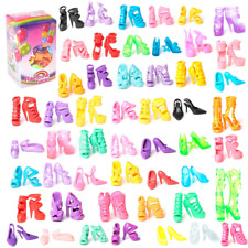 f237018c63f 50 Pairs Different High Heel Shoes Boots Accessories For Barbie Doll