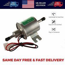 Universal Inline Fuel Pump 12V Electric Low Pressure Gas Diesel HEP-02A