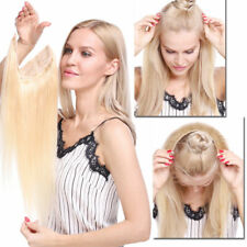 "16""-28"" Invisible Secret Wire One Piece Remy Human Hair Extensions Thick Full"
