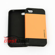 Slim Hard Plastic Case For iPhone 5 5S + Free Screen protector Spigens