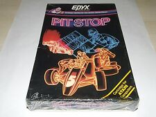 PIT STOP by EPYX (CARTRIDGE) RARE for ATARI 400 800 XE XL COMPUTER new old stock