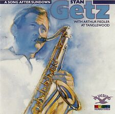STAN GETZ WITH ARTHUR FIEDLER AT TANGLEWOOD - A SONG AFTER SUNDOWN / CD