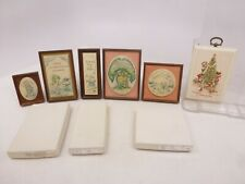 YF Joan Walsh Anglund Group of 6 Hallmark Plaques - Lot #10