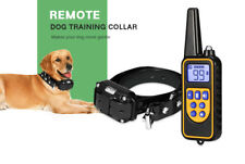 collier chien électrique waterproof resist résistant eau dressage télécommande