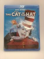Dr. Seuss The Cat in the Hat *NEW* (BluRay, 2012, Widescreen Edition) Mike Myers