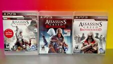 Assassin's Creed III Revelations Brotherhood - Sony PlayStation 3 PS3 3 Game Lot