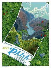 Phish Gorge Amphitheatre Poster 2018 Landland