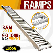 NEW Digga 9 Tonne Aluminium Loading Ramps - Truck Excavator Skid Steer Bobcat