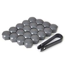20pcs 17mm Wheel Lug Nut Bolt Center Cover Gray Caps & Tool Auto Parts Universal