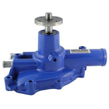 Tuff Stuff Water Pump 1594NCBLUE; High Volume Blue Aluminum for Ford Mustang 5.0