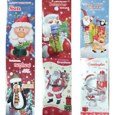 Christmas Money Wallets Gift Pouches Xmas Traditional Son Daughter Grandchildren