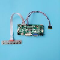 HDMI+DVI+VGA LCD Display Controller Board Kit for WLED LVDS 40pin LTN156AT05-H01
