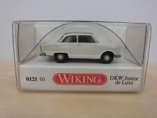 Wiking 1:87 - DKW Junior de Luxe - perlweiß, graues Dach - 0121 01