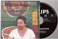SERGE GAINSBOURG marilou reggae CD PROMO