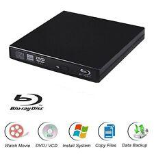 Blu-Ray Player Laptop External USB DVD RW Burner Drive New