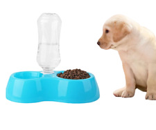Pet Cat Dog Puppy Automatic Water Feeder Water Drinking Dispenser Food Dish Bowl