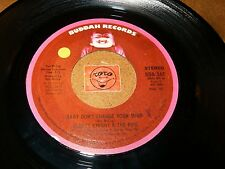 GLADYS KNIGHT & THE PIPS - BABY DON'T CHANGE YOUR MIND     / LISTEN - SOUL 70'S