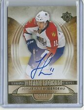 2013-14 Ultimate Collection JONATHAN HUBERDEAU Rookie Autograph sp Serial #12/99
