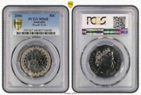 "1977 AUSTRALIA 50 CENTS ""JUBILEE"" PCGS PR68DCAM PROOF HIGH GRADE UNCIRCULATED"
