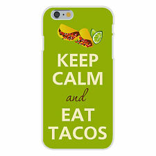 Keep Calm and Eat Tacos FITS iPhone 6+ Plastic Snap On Case Cover New