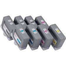 8 ORIGINAL TINTA CANON ipf-8000 ipf-9000 S / pfi-301 MBK GY C M y Cartuchos de
