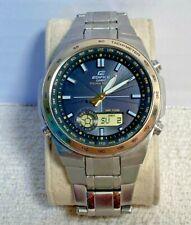 Casio Analog Digital Combo Edifice Tough Solar Watch EFA-134 Module 5200