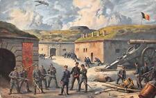 SOLDIER'S GUNS KORTRYK BELGIUM GERMANY WW1 MILITARY FELDPOST POSTCARD 1915 (279)