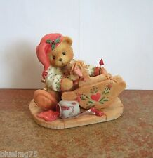 Enesco Cherished Teddies Ginger #141127 Painting Your Holidays With Love (Ct7)