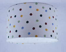 "11"" Lampshade Handmade in UK - Emma Bridgewater Polka Dot Fabric"