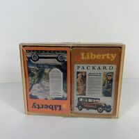 VTG SEALED Hallmark Liberty Bridge Playing Cards Automotive Studebaker Packard