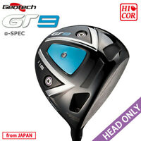 HEAD ONLY GEOTECH GOLF JAPAN GT 9 α-SPEC Hi-COR DRIVER GT 1101-A9 2021c