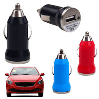 Universal Car Charger Candy Color Power Adapter 5V 3.1A USB Socket For Phone