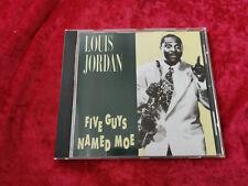 Louis Jordan five guys named moe CD album