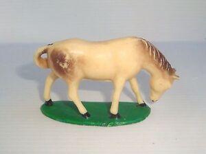 Figurine Old Starlux Series Farm 1959: Horse Base Bert Ref 4187 N° 1