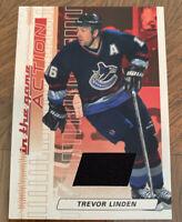Trevor Linden Vancouver Canucks Player Lot. Game Jersey Card. 10 Cards