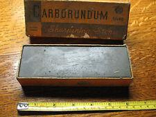 CARBORUNDUM  BRAND  SHARPENING  STONE  122  MEDIUM  6 X 2 X 1