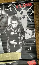 large unofficial The Clash poster : Punk Silver Jubilee 1977 - 2002 : 3'x2'