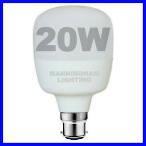 20W T Globe Shape B22 LED Super Bright Hi Lumen Commercial Light Shop Bulb Lamp