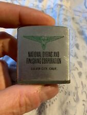 Vintage NATIONAL DYEING AND FINISHING CORPORATION advertising Zippo Tape Measure