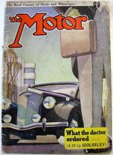 The MOTOR Magazine 1 Jun 1937 Vauxhall 12 HP tested Talbot 10 DHC Hillman Limo