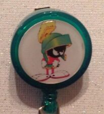 Marvin the Martian Badge - Marvin Id Holder - Marvin Badge Reel - Marvin Lanyard