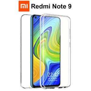Funda Proteccion 360º Gel TPU Hibrida Transparente para Xiaomi Redmi Note 9