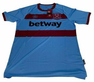 West Ham United Away Shirt 2020 2021 XL Extra Large Football Jersey England