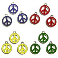 PEACE Symbol Assorted Lot Charms