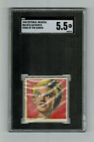 SGC 5.5 RITA HAYWORTH 1948 Bruguera Card THE ONLY ONE EVER GRADED by SGC or PSA