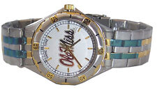 Ole Miss Mississippi Gold Logo Watch Mens General Manager's Game Time