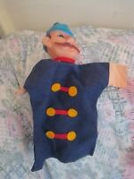 Vintage Policeman puppet (for Punch and Judy ? show)