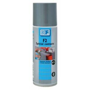 Aérosol nettoyant F2 spécial contacts électriques KF
