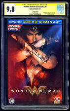 Wonder Woman Gratis-Comic SS CGC 9.8 Gal Gadot Signature Series Free Shipping