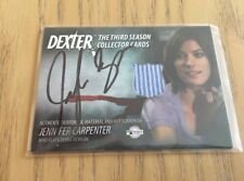 Dexter Season 3 autographed costume card - Jennifer Carpenter as Debra Morgan